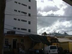 Antigua, St.Johns, ehemaliger Hauptsitz von Boss Media