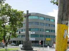 Antigua Sitz von Cryptologic in modernem Bürogebäude