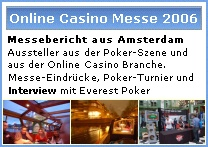 Messebericht - Poker Turnier - Interview