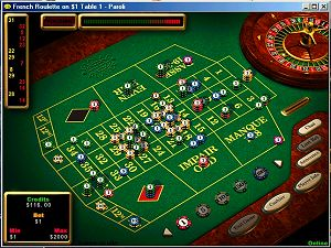 Global Player Screenshot: Roulette in Aktion