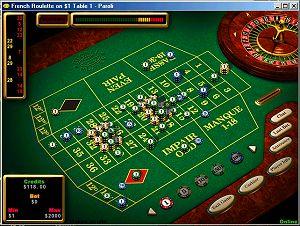 Player Screenshot: Rund um die Uhr Betrieb beim Multiplayer- Roulette